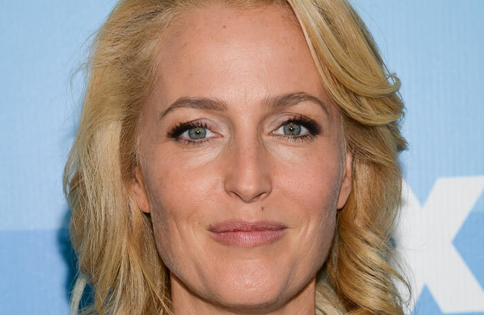 Gillian Anderson will join a raft of stars appearing in Whodunnit [Unrehearsed] at London's Park Theatre. Photo: Sky Cinema/Shutterstock