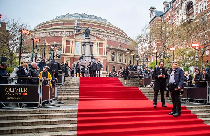 The Olivier Awards 2019 took place at London's Royal Albert Hall on April 7. Photo: Pamela Raith