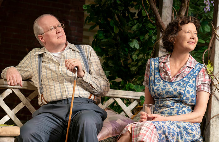 Tracy Letts and Annette Bening in All My Sons. Photo: Joan Marcus