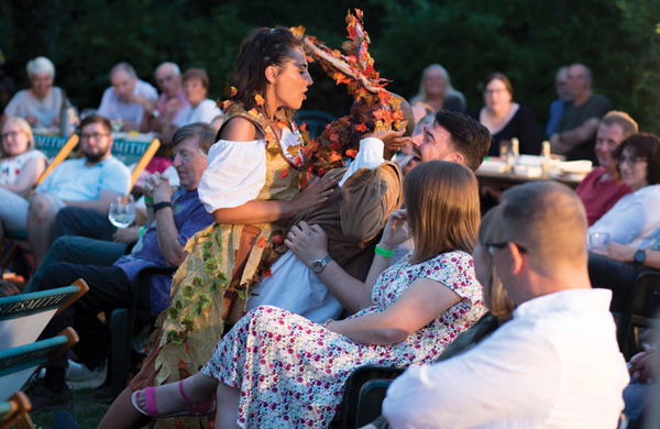 Working for an outdoor theatre company – will it be sunshine or thundershowers?