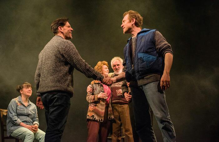 Andy Clark and Ali Craig in Lost at Sea at Perth Theatre. Photo: Mihaela Bodlovic