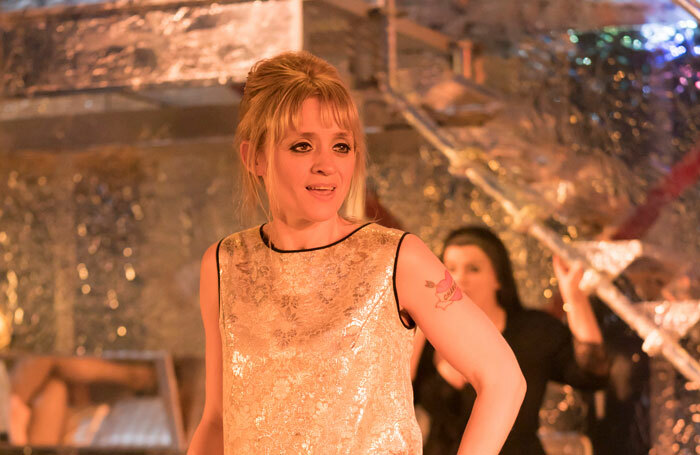 Anne-Marie Duff in Sweet Charity at Donmar Warehouse, London. Photo: Johan Persson