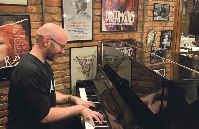 Performing in Joe Allen: Musical Starters curator AJ O'Neill