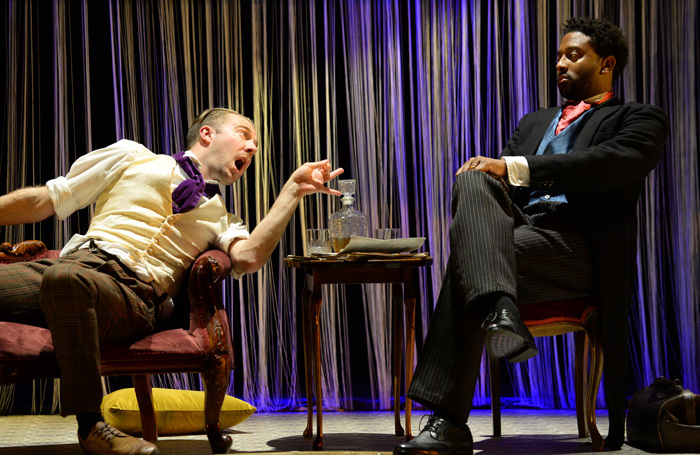 Oliver Brignall and Peter Brathwaite in The Music Cure. Photo: Sharron Wallace