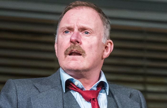 Robert Glenister in Glengarry Glen Ross in 2017. Photo: Tristram Kenton