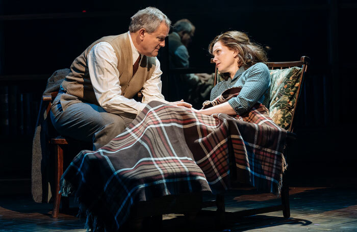 Hugh Bonneville and Liz White in Shadowlands at Chichester Festival Theatre. Photo: Manuel Harlan