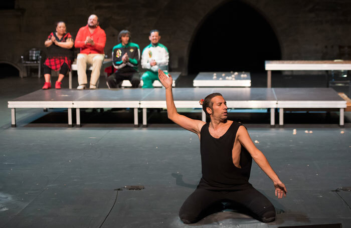 Israel Galván's La Fiesta at Sadler's Wells, London. Photo: Laurent Philippe