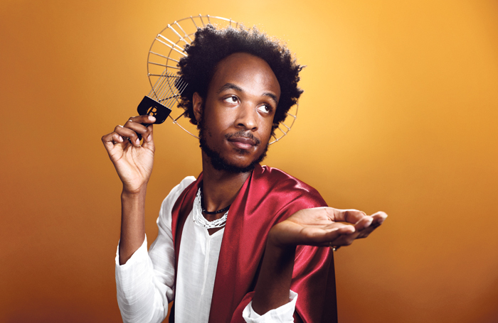 Jamal Gerald in Idol. Photo: the Other Richard
