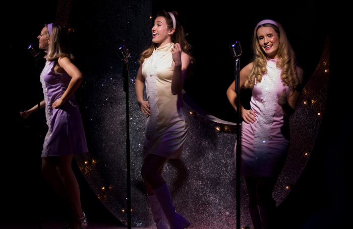 The cast of The Marvelous Wonderettes at Upstairs at the Gatehouse, London