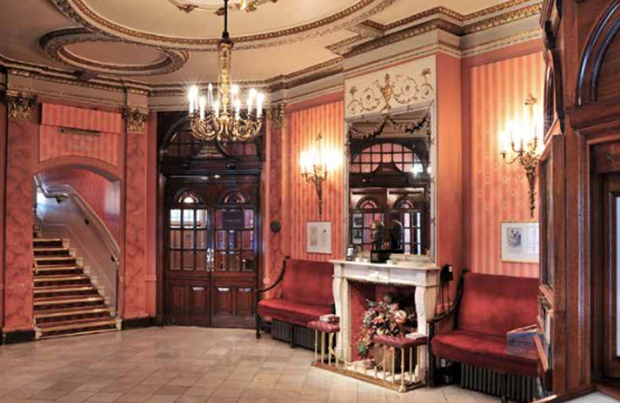 """The Noel Coward Theatre's foyer will be altered to to create a """"better work environment"""" for box-office staff and make it more accessible to customers"""
