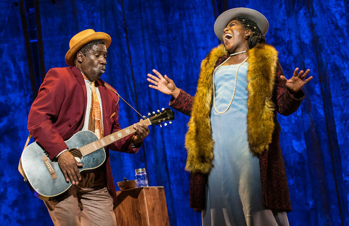 Cleavant Derricks and AnnEliza Canning- Skinner in Revival: The Resurrection of Son House. Photo: Goat Factory Media