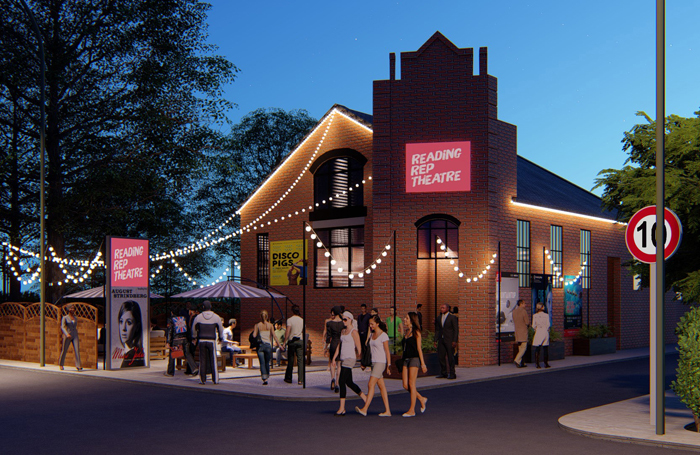 Artist's impression of Reading Rep Theatre's new permanent home