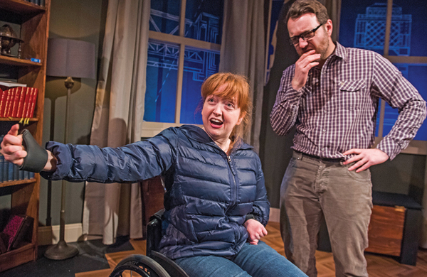 Athena Stevens: Targets must be set for disabled actors' West End inclusion