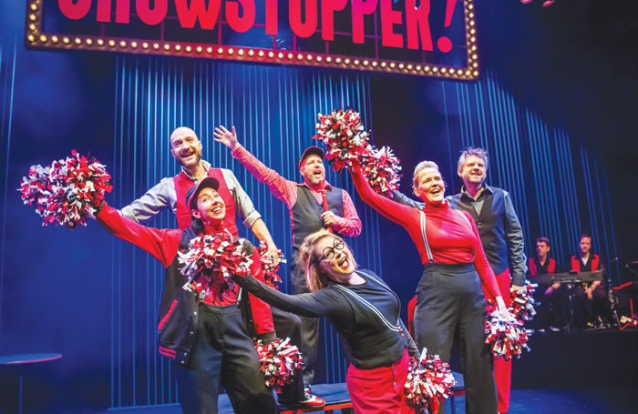 Showstopper! The Improvised Musical at the Other Palace: Our panel considers improvisation to be a useful life skill. Photo: Tristram Kenton