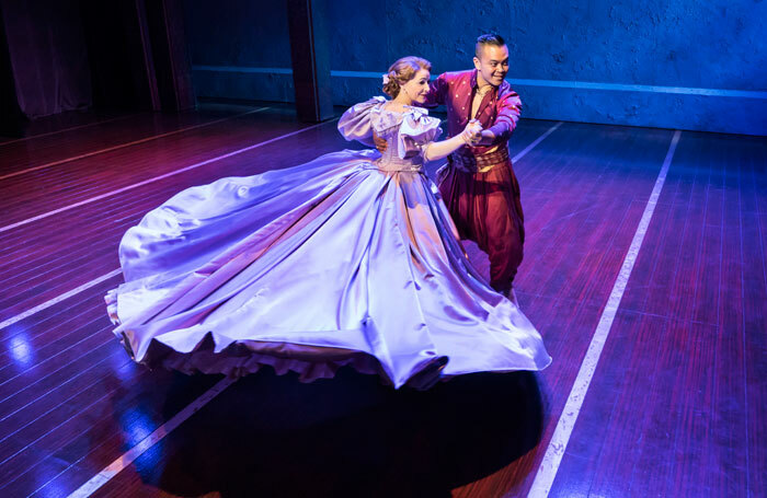 Annalene Beechey and Jose Llana in The King and I at Manchester Opera House. Photo: Johan Persson