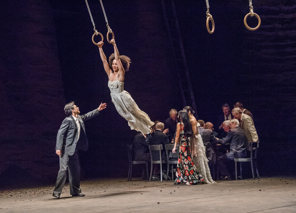 "Pina Bausch's Viktor at Sadler's Wells, London – the choreographer said ""lovely mistakes"" were an essential part of her creative process. Photo: Tristram Kenton"