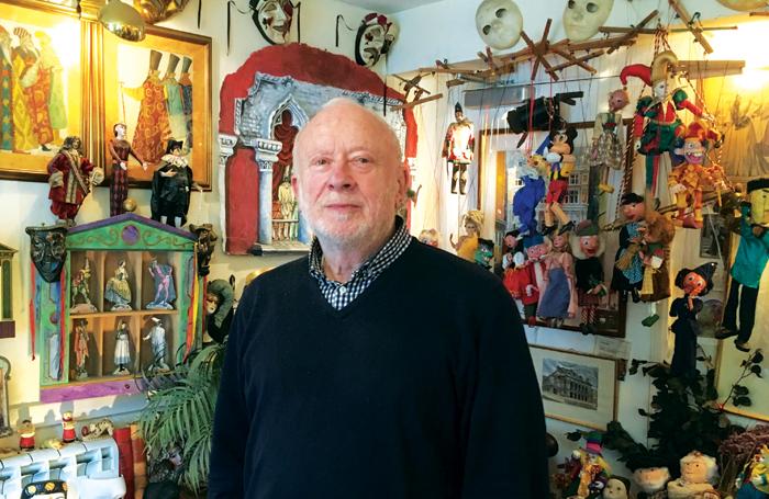Robert Breckman in his office. Photo: Nick Higham