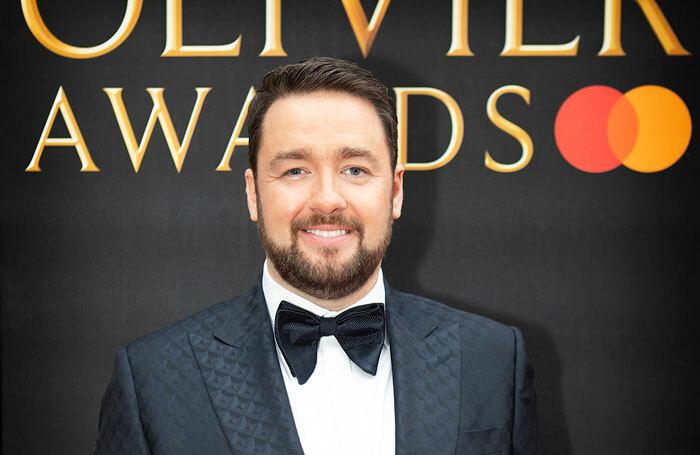 Jason Manford at the Olivier Awards 2019. Photo: Pamela Raith