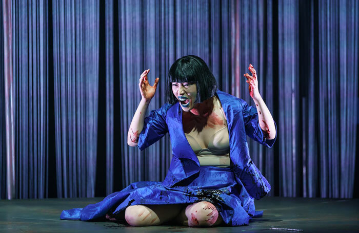 Hongni Wu in Phaedra at Linbury Theatre, London. Photo: Bill Cooper