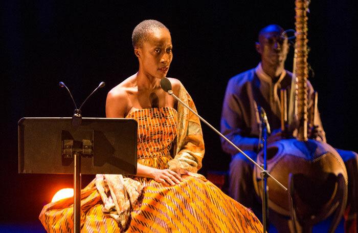 Rokia Traoré performing Dream Mandé: Djata. Photo: Summer Dean