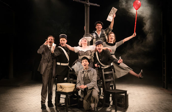 The company of Amour at Charing Cross Theatre, London. Photo: Scott Rylander