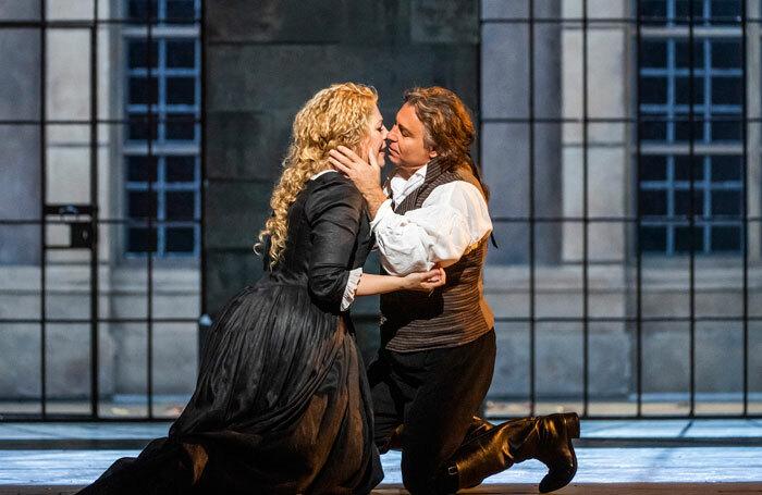 Roberto Alagna and Sondra Radvanovsky in Andrea Chenier at the Royal Opera House. Photo: Tristram Kenton