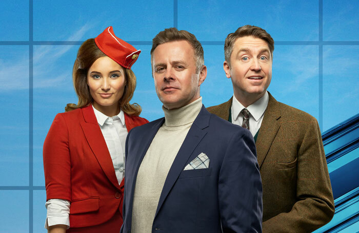 Tom Lister and Daniel Casey will star in Boeing-Boeing, which tours the UK from September