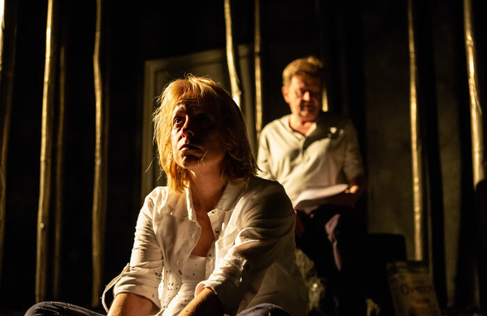 Madeleine Bowyer and Daniel Rainford in Bromley Bedlam Bethlehem at Old Red Lion. Photo: Ali Wright