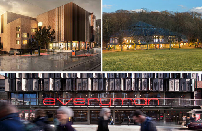 North West theatres actors have claimed are providing fewer opportunities for actors include, clockwise from top left: Oldham Coliseum, Theatre by the Lake (photo: Stuart Holmes) and Liverpool Everyman (photo: Philip Vile)