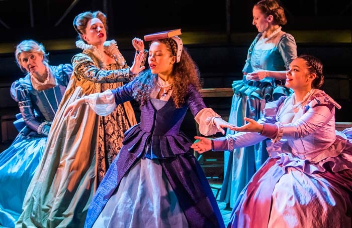 Last month a crowdfunding campaign set up by theatre videographer Ben Hewis raised £1,600 to buy tickets for young women to see Emilia in the West End. Photo: Tristram Kenton