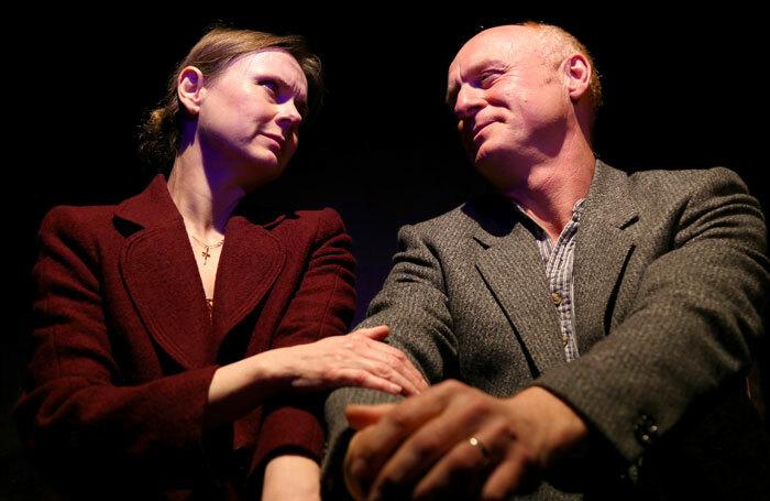 Tracey-Ann Wood and Jonny Magnanti in Happy Jack at Jack Studio, London. Photo: Robert Piwko