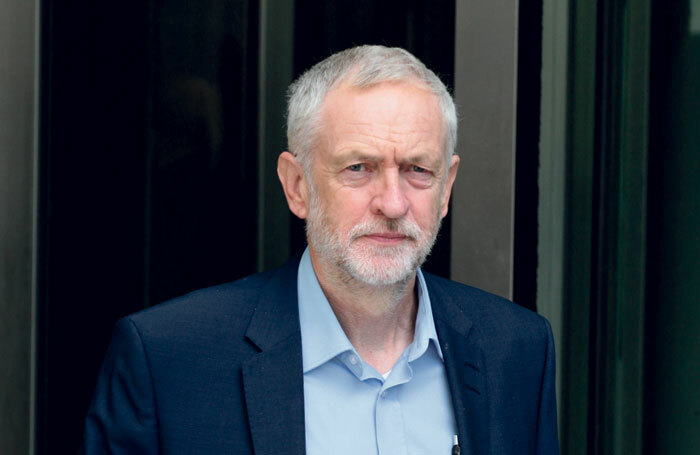 Labour leader Jeremy Corbyn challenged Theresa May over cuts to arts funding at today's PMQs. Photo: Twocoms/Shutterstock