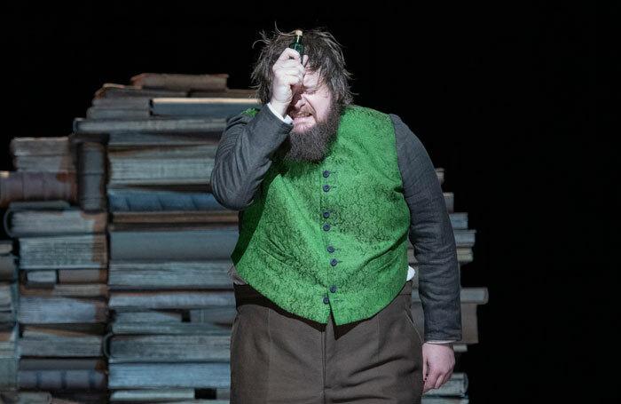 British tenor Allan Clayton as Faust in the Glyndebourne Festival Opera production. Photo: Richard Hubert Smith