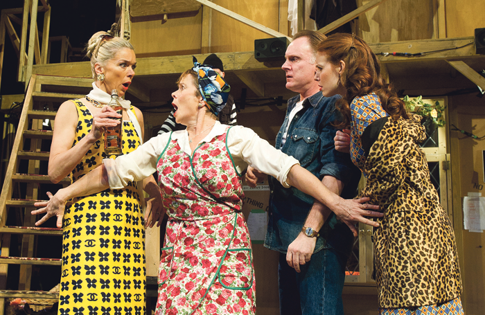 Noises Off (Old Vic, 2011) attests to the woes that can befall a production... Photo: Tristram Kenton