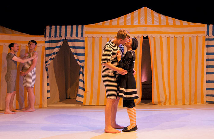 Scene from Partenope at Jacksons Lane, London. Photo: Laurent Compagnon