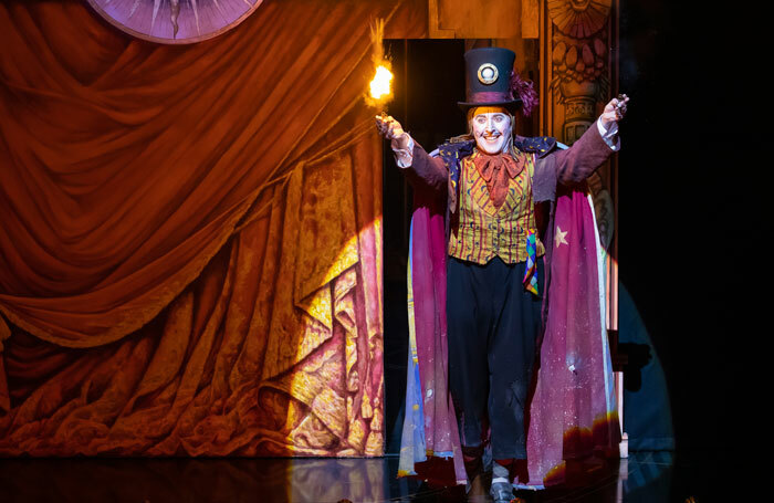 Richard Burkhard in The Magic Flute at Theatre Royal, Glasgow