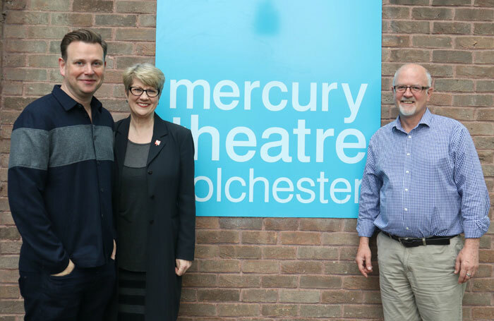 Ryan McBryde (left) will work alongside joint chief executives Tracey Childs (centre) and Steve Mannix (right)