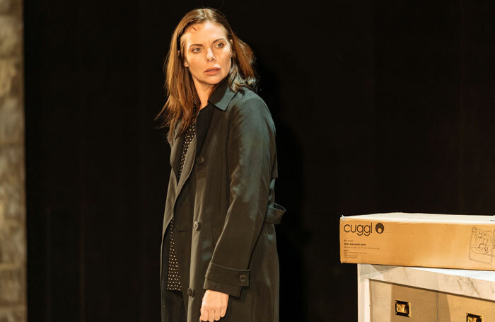 Samantha Womack in The Girl on the Train. Photo: Manuel Harlan
