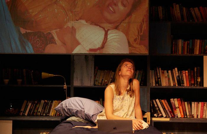 Maite Jáuregui in The Reality at Cervantes Theatre, London