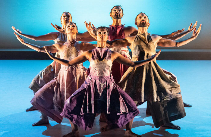 The cast of The Rite of Spring at The Place, London. Photo: Foteini Christofilopoulou