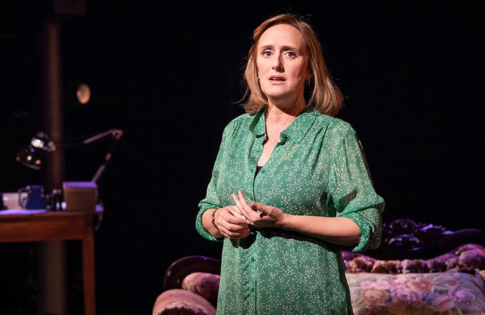 Jenna Russell in Fun Home at the Young Vic, London. Photo: Marc Brenner