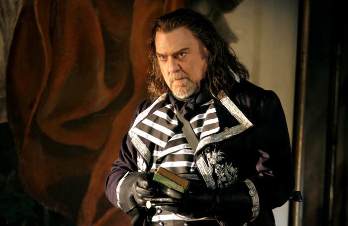 Bryn Terfel in Tosca at Royal Opera House, London. Photo: Catherine Ashmore