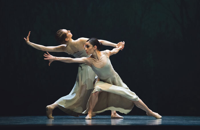 Jennifer Stahl and Dores André in Bound To at Sadler's Wells. Photo: Erik Tomasson
