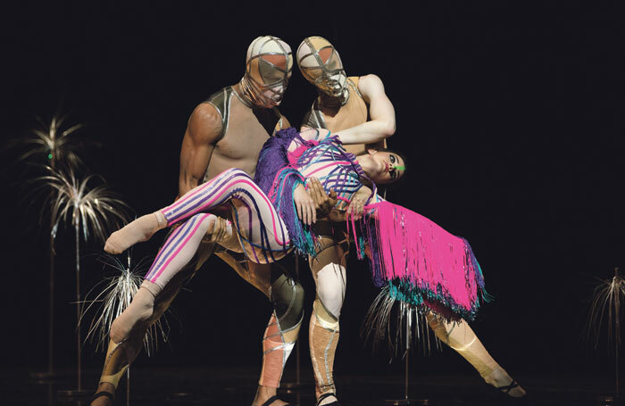 Sam Francisco Ballet's Bjork Ballet at Sadler's Wells, London. Photo: Erik  Tomasson