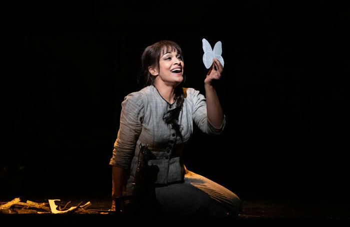 Danielle de Niese in Cendrillon at Glyndebourne. Photo: Richard Hubert Smith