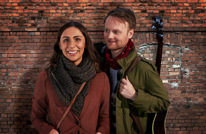 Daniel Healy and Emma Lucia will star in Once the Musical