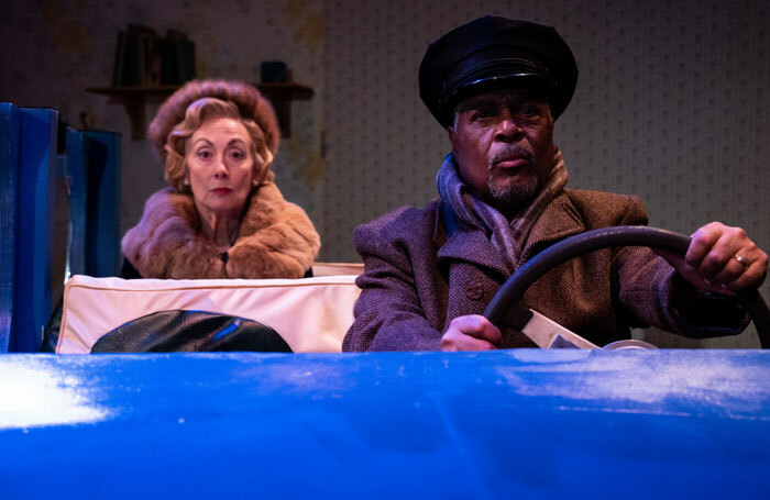 Paula Wilcox and Maurey Richards in Driving Miss Daisy at York Theatre Royal. Photo: Sam Taylor