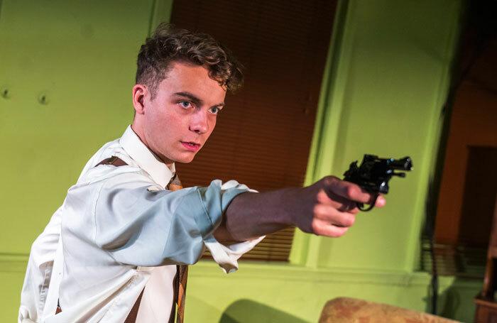Thomas Martin in Garry at White Bear Theatre, London. Photo: Tristram Kenton