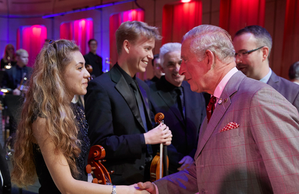 Prince of Wales becomes president of Royal Welsh College
