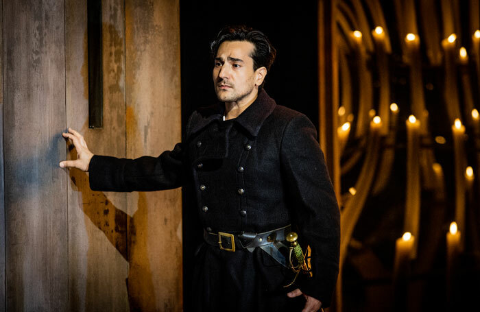 Leonardo Capalbo in Don Carlo at Grange Park Opera. Photo: Robert Workman